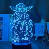 A Mester 3D led lámpa