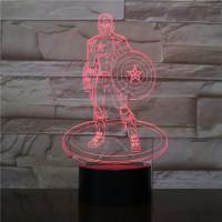 A Kapitány 3D led lámpa