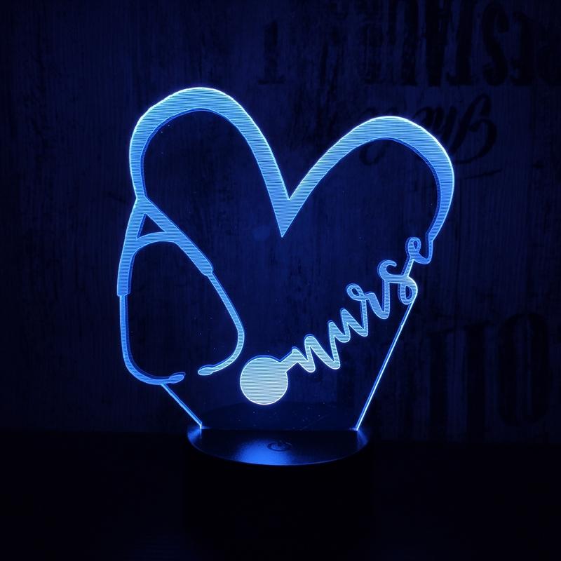 Doktor Love 3D led lámpa